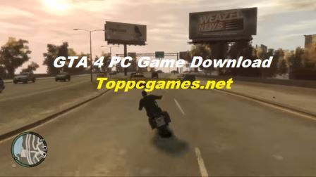 GTA 4 PC Game Free Download Highly Compressed