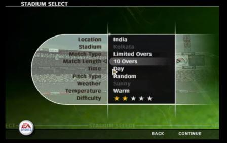 EA Sports Cricket 2007 Gameplay