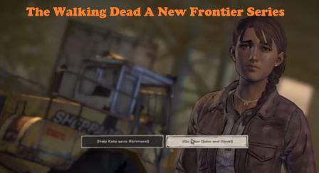 The Walking Dead A New Frontier Series
